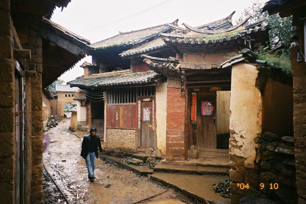 剣川県の古鎮場